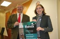 Juan Miguel Moreno y Carmen Blanco en la presentación de UCOpoética