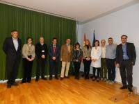 En la foto, las autoridades asistentes a la inauguración de la III Jornada de Enfermedades Raras.