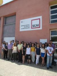 Equipo del Servicio Centralizado de Apoyo a la Investigación (SCAI)