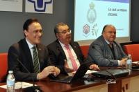 Conferencia del rector en el Colegio de Veterinarios de Córdoba