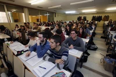 Estudiantes del grado de Enfermería de la Universidad de Córdoba