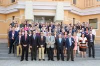Foto de familia del plenario de la Sectorial de Investigación de la CRUE celebrada en Sevilla
