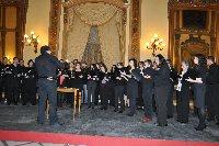El taller de musica coral culmina con un concierto de polifonia sacra y profana en el Círculo de la Amistad a cargo del coro Averroes de la Universidad de Córdoba.