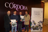 De izqda. a dcha. Luis Medina, Pedro García, Francisco Alcalde y José Mª Manjavacas