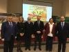 De izquierda a derecha, Francisco Zurera, Rosa Gallardo, Ignacio Fernández de Mesa, José Luis García-Palacios, Mª Dolores Amo y Enrique Quesada Moraga.