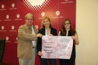 Antonio López, Carmen Blanco y Cristina Toledo