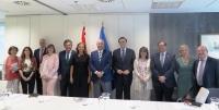 Foto de familia de la Comisión Mixta Crue-Minecoe