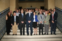 Foto de familia de los investigadores participantes