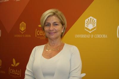 La catedrática Carmen Galán