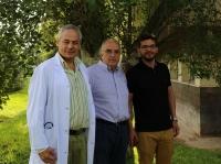 De izquierda a derecha Alejandro Martín-Malo, Mariano Rodríguez y Cristian Rodelo