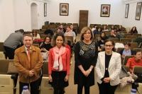 Autoridades en la inauguración del curso