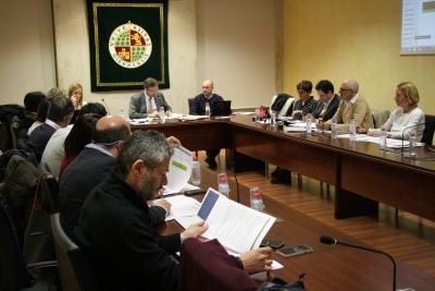 Un momento de la reunión celebrada en Jaén