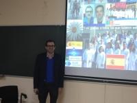 Rafael Luque impartió esta semana una conferencia en Rabanales