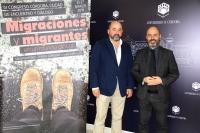 De izquierda a derecha, Manuel Torres y Luis Medina, en la presentación del congreso.