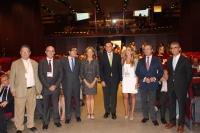 Autoridades participantes en la sesión inaugural del congreso
