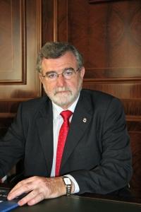 El rector, José Manuel Roldán Nogueras