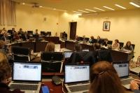 El Consejo de Gobierno durante su sesión ordinaria de hoy