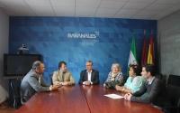 Un momento de la reunión celebrada en Rabanales 21