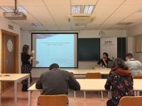 Una imagen del desarrollo del seminario celebrado en Rabanales
