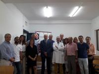 Personal del FREMAP Mutua, con personal de UCO, tanto participantes como organizadores y colaboradores