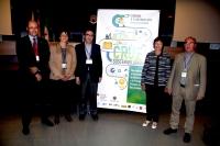 Antonio Cubero, el primero por la izquierda con integrantes del nuevo Comité Ejecutivo de la Sectorial de Sosteniblidad de la CRUE