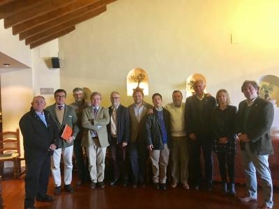 Miembros del Jurado de la XVIII edición de los Premios Andrés Núñez de Prado a la Investigación y Defensa en Producción Ecológica