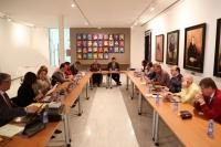 Un momento de la reunión de la Comisión Sectorial de I+D+i de las universidades públicas andaluzas que preside el rector de la UCO