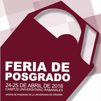II Feria de Posgrado de la UCO, dirigida a estudiantes y egresados