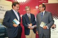 De izquierda a derecha, Francisco Gracia, Emilio Fernández y Jaime del Barrio