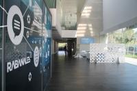 Imagen del interior del edificio de Rabanales 21.