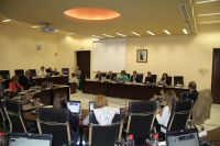 Vista general de la sesión de Consejo de Gobierno celebrada hoy