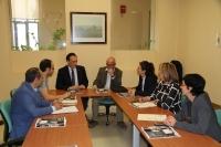 Un momento de la reunión constituyente de la Comisión de Política Lingüística de la UCO.