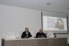Enrique Quesada y Manuel Carmona en la inauguración de la jornada