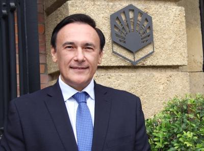 El rector, José Carlos Gómez Villamandos