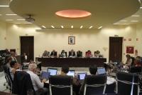 Vista general del Consejo de Gobierno durante su sesión ordinaria de hoy.