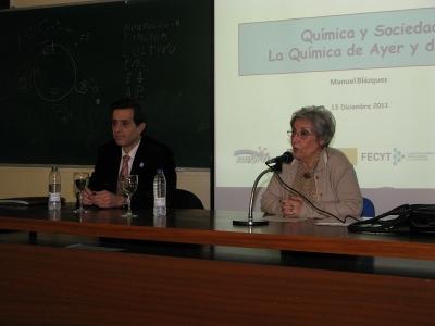 Manuel Blázquez y Maria Jose Porro
