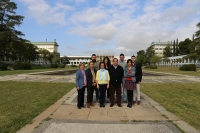 The research team of the University of Cordoba working on Diverfaring