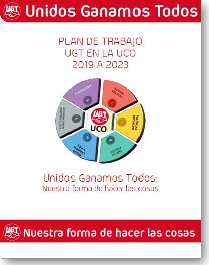 Plan de Trabajo PAS de UGT en la UCO 2019-23