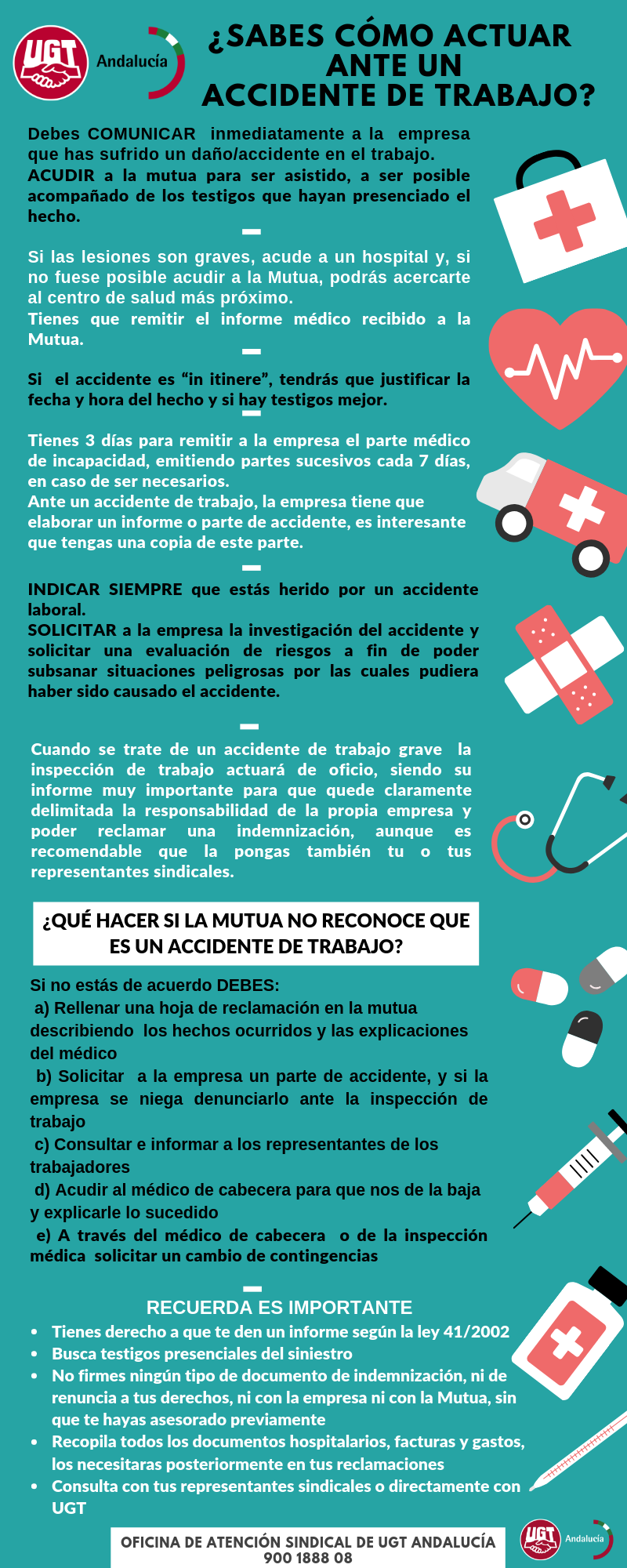 guia accidente trabajo