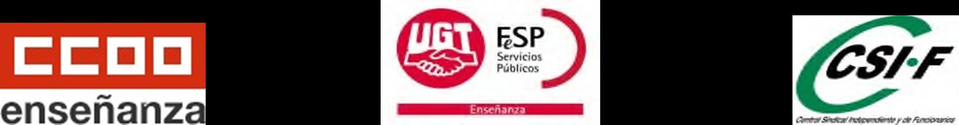 UGT CCOO CSIF Estatal