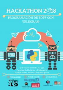 Hackathon de programación de bots @ Facultad de Medicina y Enfermería. Ed. Norte. Sala de Usos Múltiples 2