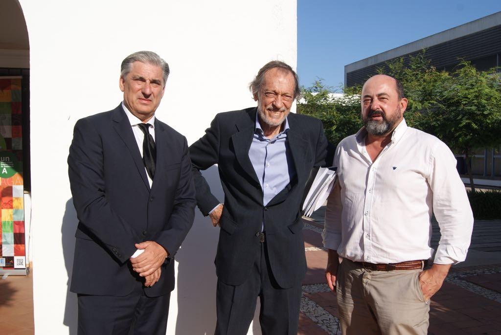 De izquierda a derecha, Fernando López Mora, Emilio Casinello y Manuel Torres