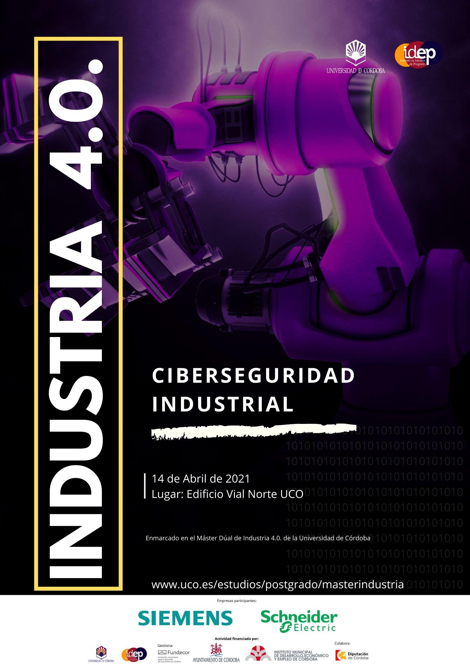 Jornada Ciberseguridad Industrial · 14 abril