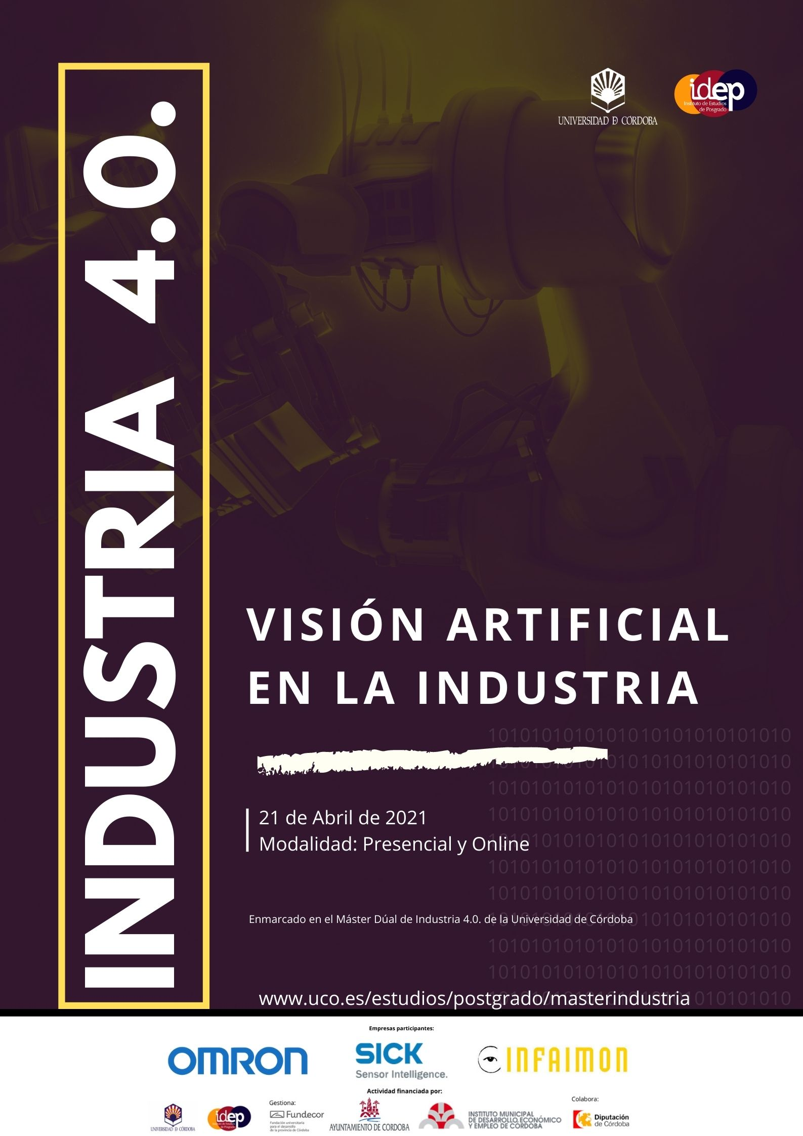 Jornada Visión Artificial en la Industria · 21 abril