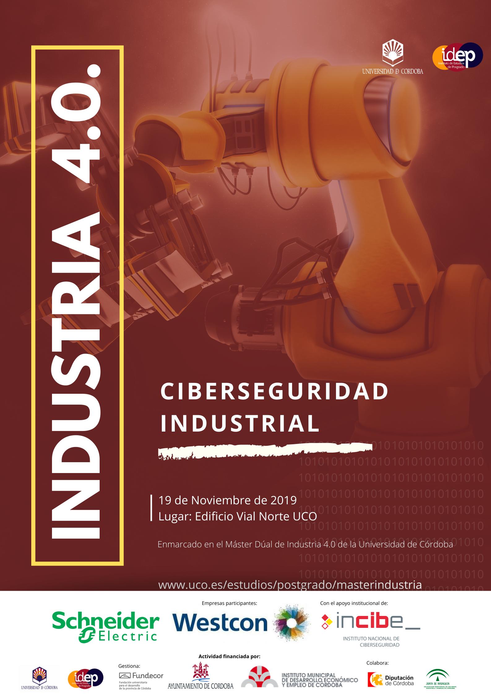 Jornada gratuita de Ciberseguridad Industrial