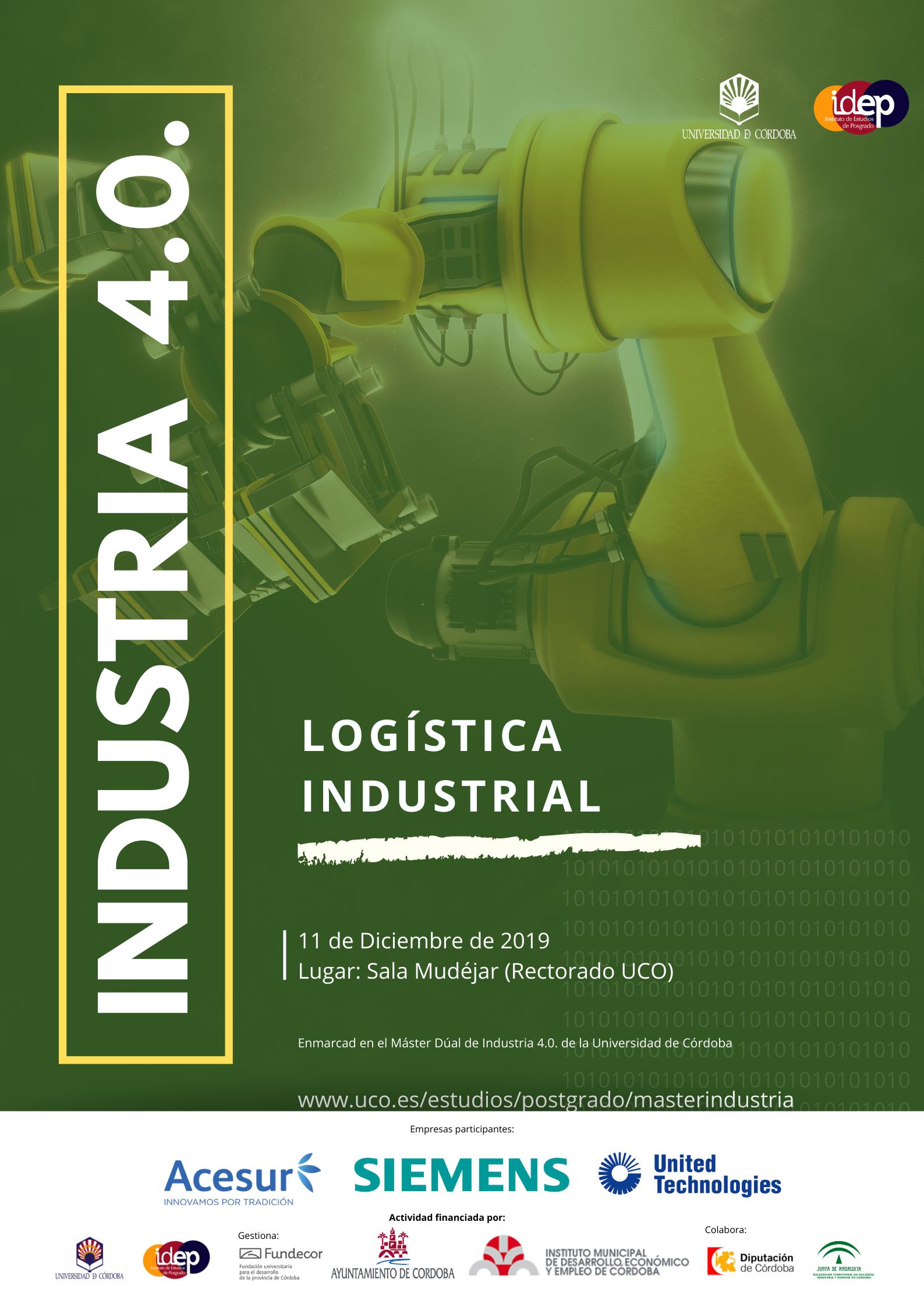 Jornadas gratuitas de Logística Industrial