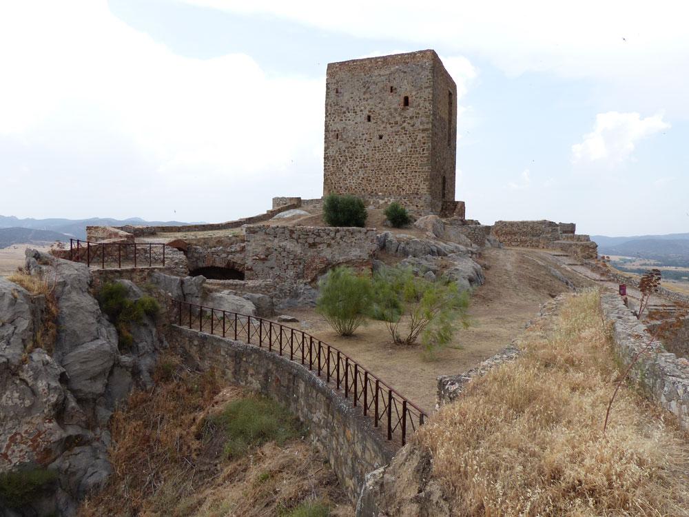 Vista del exterior del Castillo de Belmez 5. ZNIR Sensing Soltions para ©Proyecto ager Mellariensis