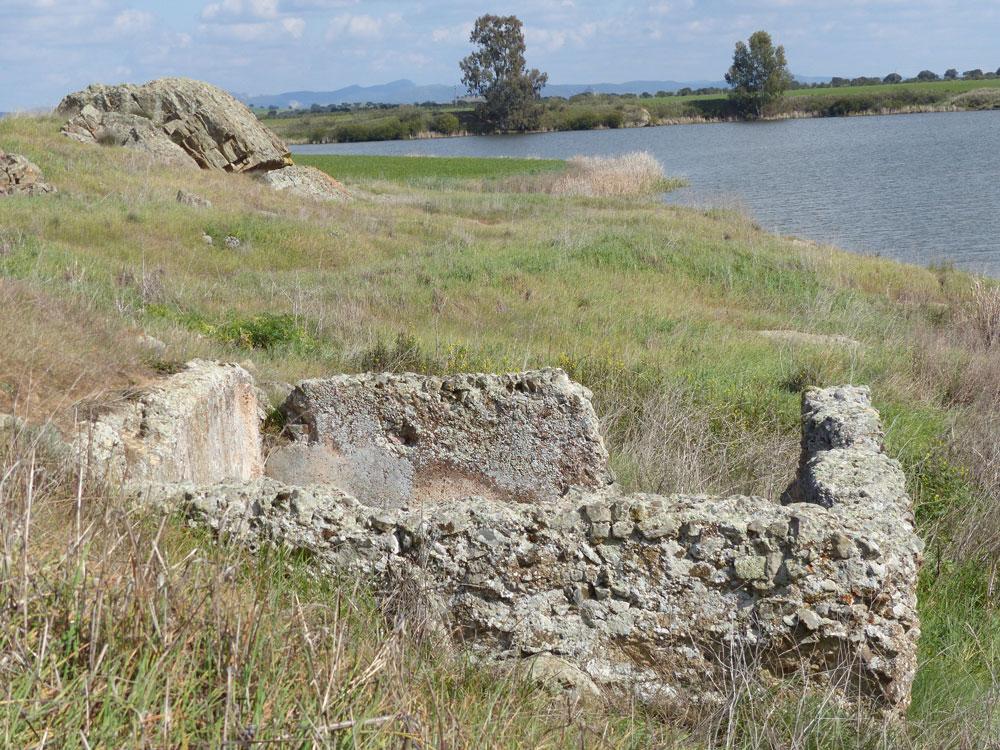 Pileta de opus caementicium en Mellaria. ©Antonio Monterroso Checa