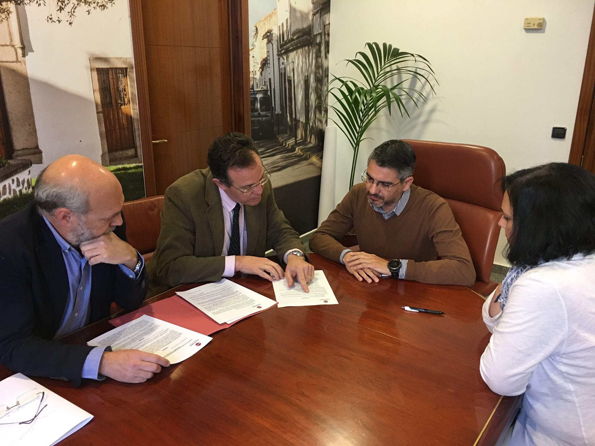 Firma de convenio con el Ayuntamiento de Pozoblanco