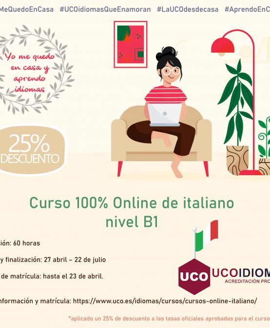 Curso Online de italiano B1